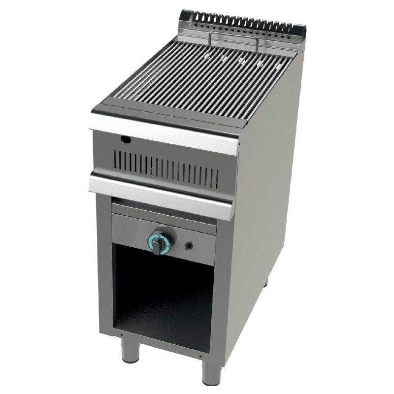 BARBACOA INDUSTRIAL A GAS CON MUEBLE FONDO 90 GR9C100