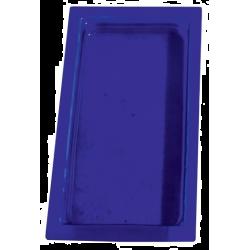 CUBETA GASTRONORM CRISTAL AZUL GN1/3-40 MM GN-AZ
