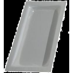 CUBETA GASTRONORM CRISTAL BLANCO GN1/3-40 MM GN-BL
