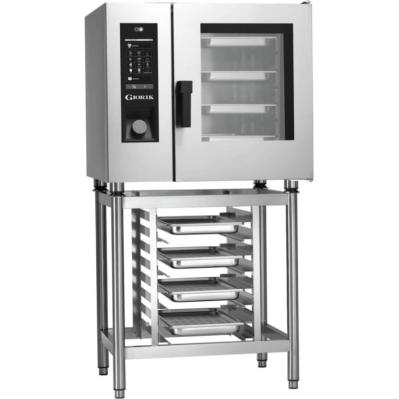 HORNO MIXTO A GAS 6 BANDEJAS GN1/1 STEAMBOX SEHG061W