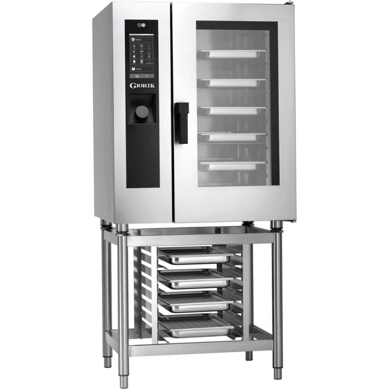 HORNO MIXTO A GAS 10 BANDEJAS GN1/1 STEAMBOX SEHG101W