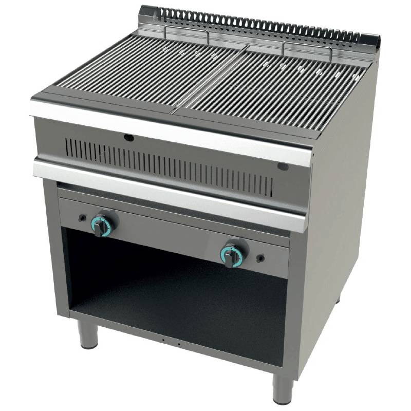 BARBACOA INDUSTRIAL A GAS CON MUEBLE FONDO 90 GR9C200